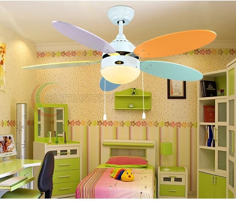 Quạt trần mini phòng trẻ em_FM25